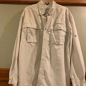 L.L. Bean Nylon vented Shirt size XL